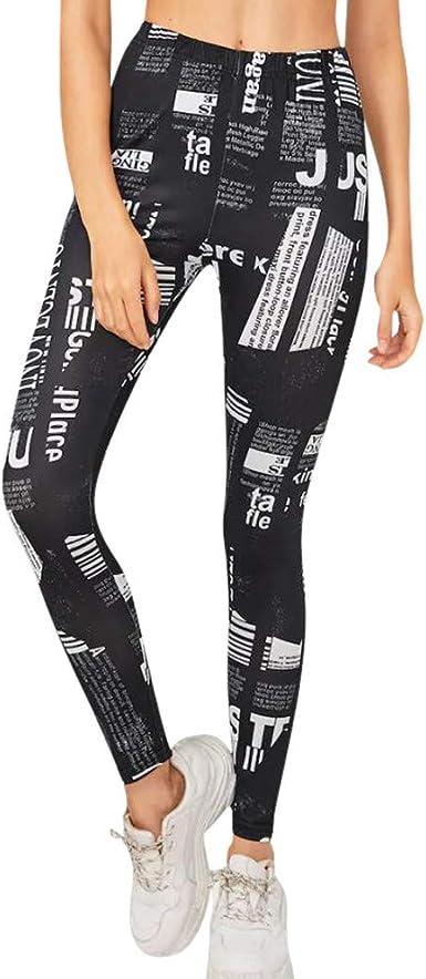 beautyjourney Leggings Pitillo de Mujer Pantalones de ...