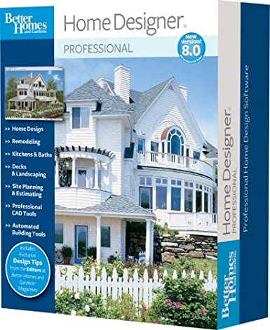 Superbe Amazon.com: Better Homes And Gardens Home Designer Pro 8.0 [OLD VERSION]:  Software