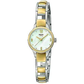 Boccia 3277 Damen Mit Titan Analog Quarz 02 Armband Uhr XukiZP