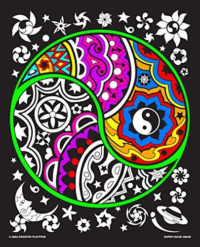 Yin Yang - 16x20 Fuzzy Velvet Poster