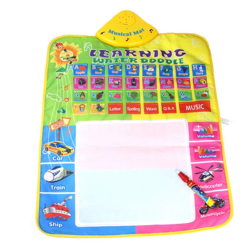 【超新作】 callm 電子ペン Magic Doodle Mat/Water 描画用絵画マット 子供へのギフト 音楽 電子ペン callm マジックウォーター 図面 学習 絵画 カラーグラフィティボード おもちゃ 落書きボード 図面 おもちゃ 子供へのギフト B07JZ5MXBS B,45x29CM, WAOショップ:bb06cdb9 --- beyonddefeat.com