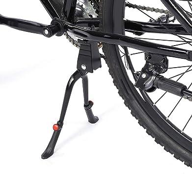 "Double Leg Center Mount MTB Stand Bike Kickstand Aluminum Adjustable 24"" 28"""