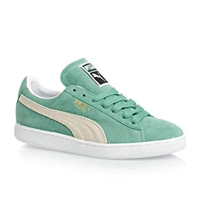 3de6337a502a Puma Suede Classic + - Electric Green  White  Amazon.co.uk  Shoes   Bags
