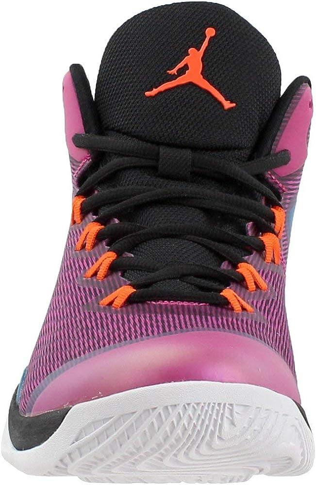 Jordan Mens Nike Super Fly 3 Basketball Shoes-Black//Blue