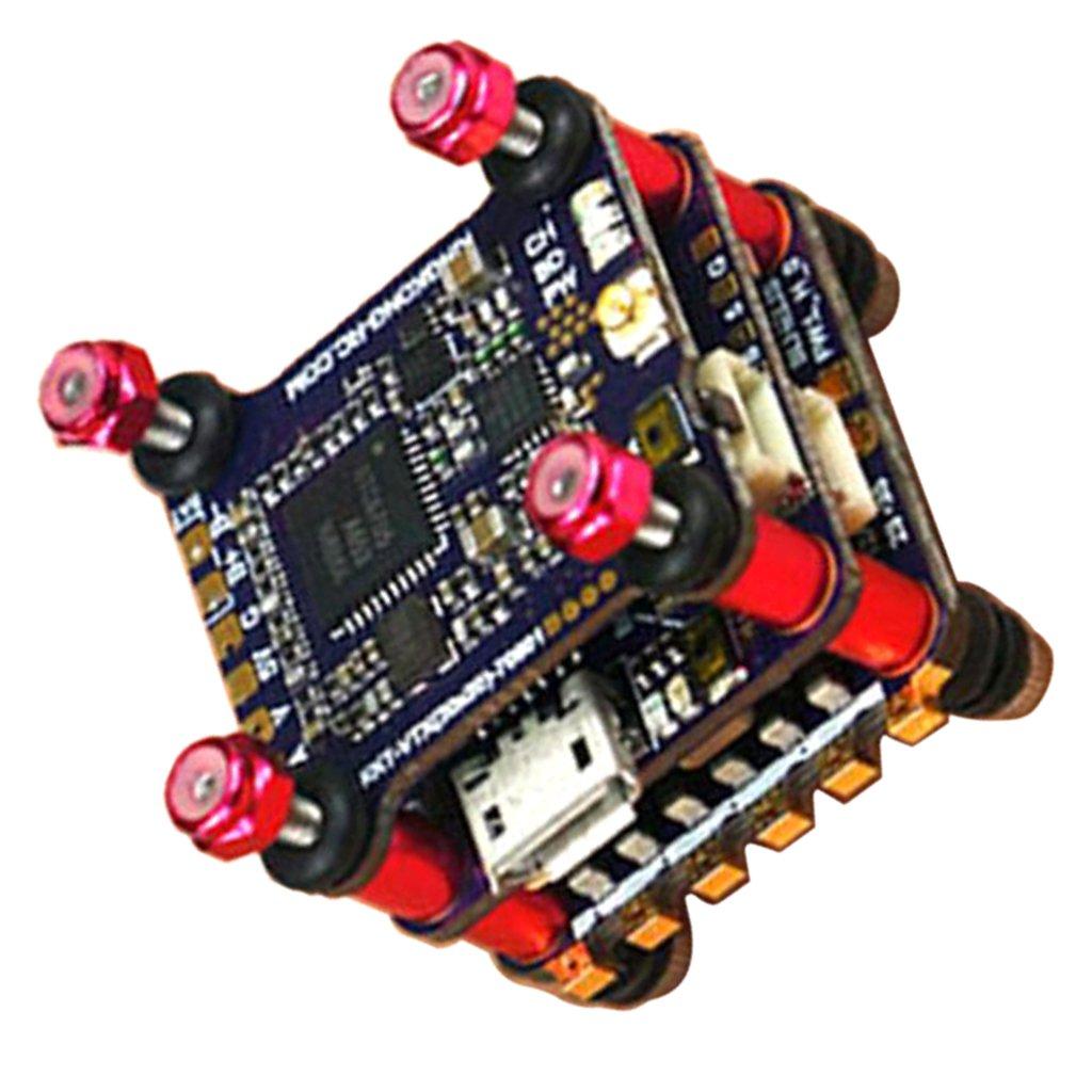 Baoblaze F4 Flight Controller con Betaflight OSD y 48CH 25/100/200mW VTX y 12A BLheli_S ESC