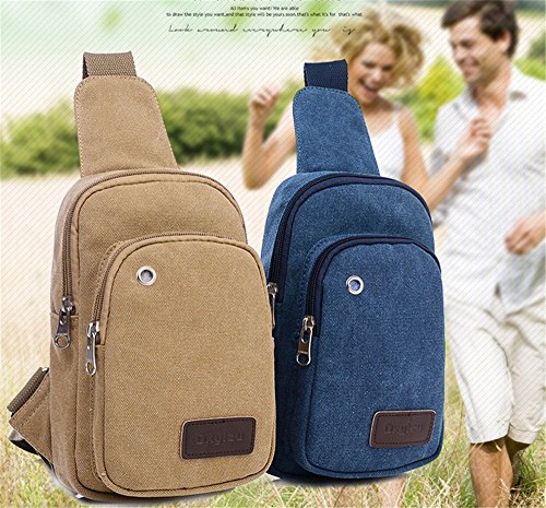 Of 4 High set Bumbag Men's Quality Different Purse Canvas Multifunctional Colors Phone blue Blue Packages Coin Hollwald OnqFx6wF