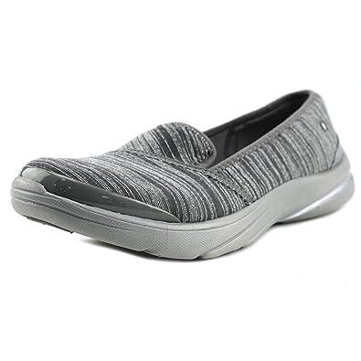 BZees Lakeside SlipOn Walking Shoe Grey 85 M US Grey