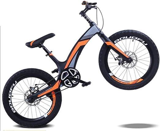 YUMEIGE Bicicletas 20 Pulgadas, Apto for niños 8-15 años de Edad ...