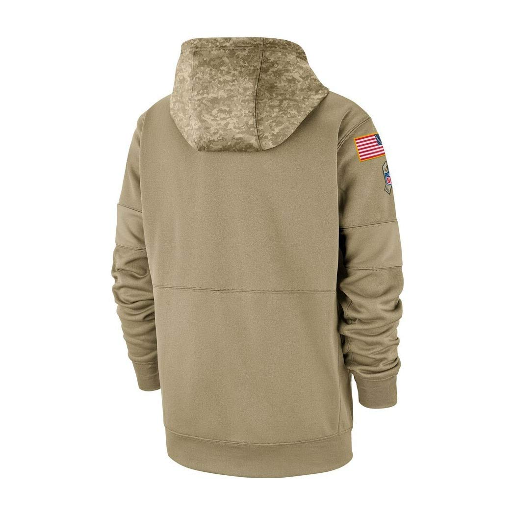 Color : Beige, Size : S YUN-SWEATHIRTS Herren Kapuzenpulli Pullover Sweatshirt Hoodie for Washington Redskins American Football Fans Trikots