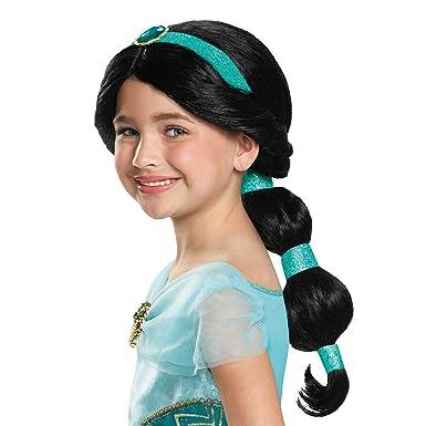 Amazon.com: Disguise Jasmine - Peluca infantil, peluca: Toys ...