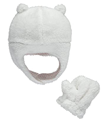 0553db7eb56 Amazon.com  Carter s Baby Girls  Winter Hat-Glove Sets D08g185  Clothing