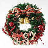 Christmas garlands ornaments Christmas decorations red berries wreath pendant