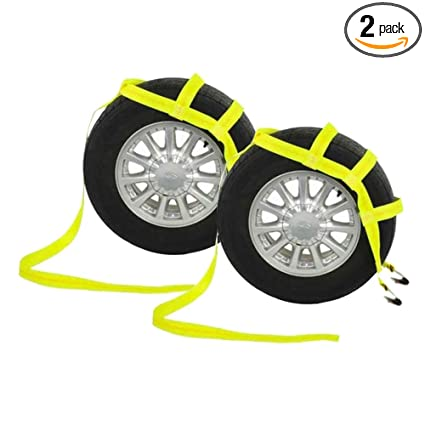 amazon com us cargo control yellow tow dolly basket strap with flat