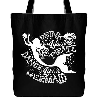Amazon.com: Bolsa de lona para bebida como un pirata con ...