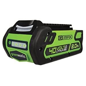 Greenworks 40V 2.0 AH Lithium Ion Battery 29462