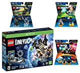 Lego Dimensions Magical Starter Pack + Harry Potter Team Pack + Fantastic Beasts Tina Goldstein Fun Pack + The Wizard Of Oz Fun Pack for Xbox One or Xbox One S Console