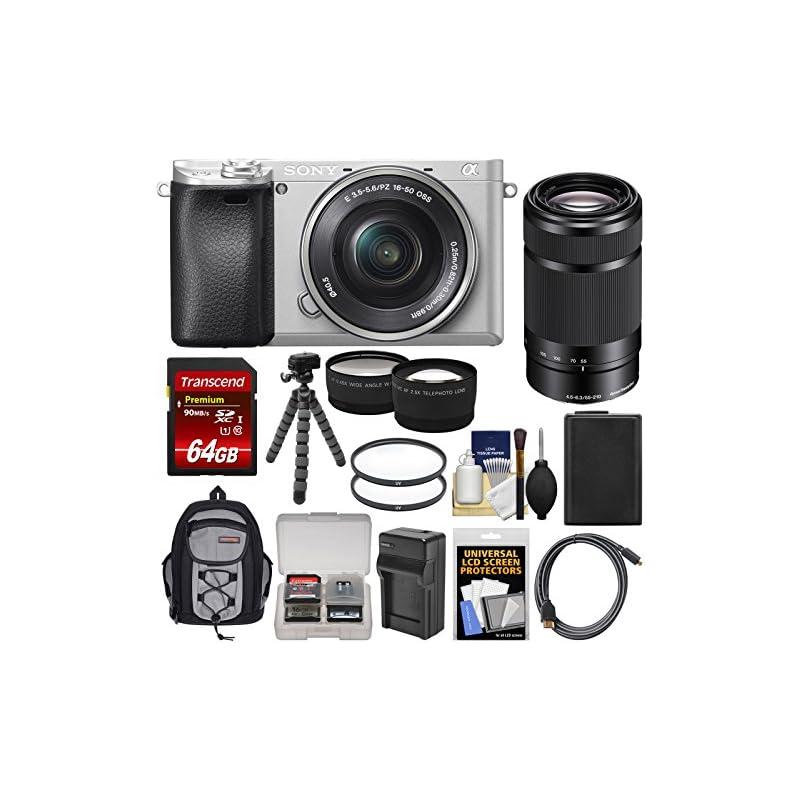 Sony Alpha A6300 4K Wi-Fi Digital Camera