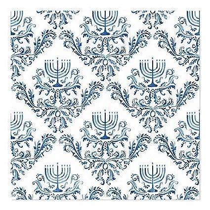 5-Pack 16x16 Holiday Decor Menorah Pattern Window Cling CGSignLab