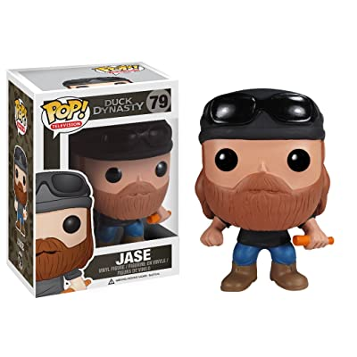 Funko POP Television Jase Robertson Duck Dynasty Vinyl Figure: Toys & Games