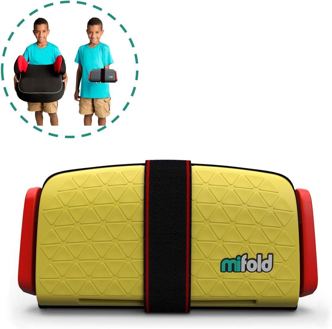 mifold Grab and Go Booster/® silla de coche amarillo sonnengelb
