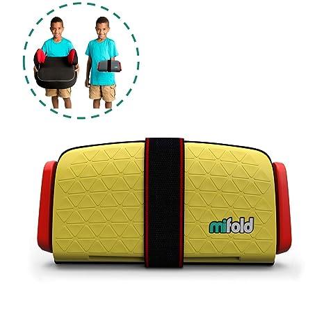 mifold Grab and Go Booster® silla de coche amarillo sonnengelb ...