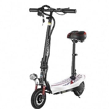FZ FUTURE Patinete eléctrico Plegable, Scooter electrico ...