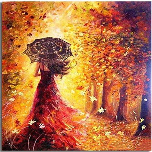 zlhcich Dormitorio Paisaje Flor decoración Pintura Venecia otoño ...