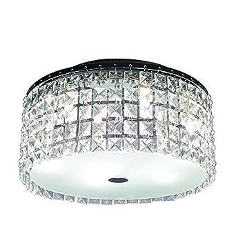 glam lighting. glam cobalt 3light brushed chrome ceiling light by hampton bay lighting o
