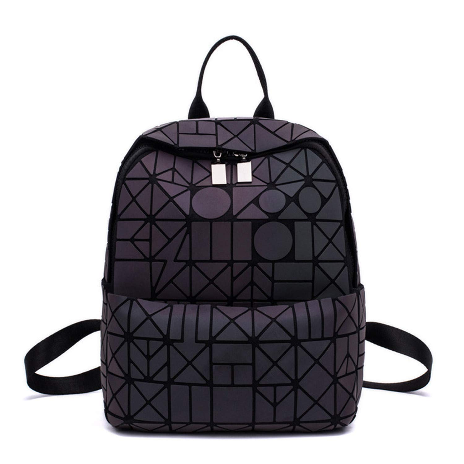 Amazon.com: Women Geometric Patchwork Diamond Backpack for ...