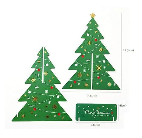 Amazon.com: JuSir - Tarjetas de felicitación 3D para árbol ...