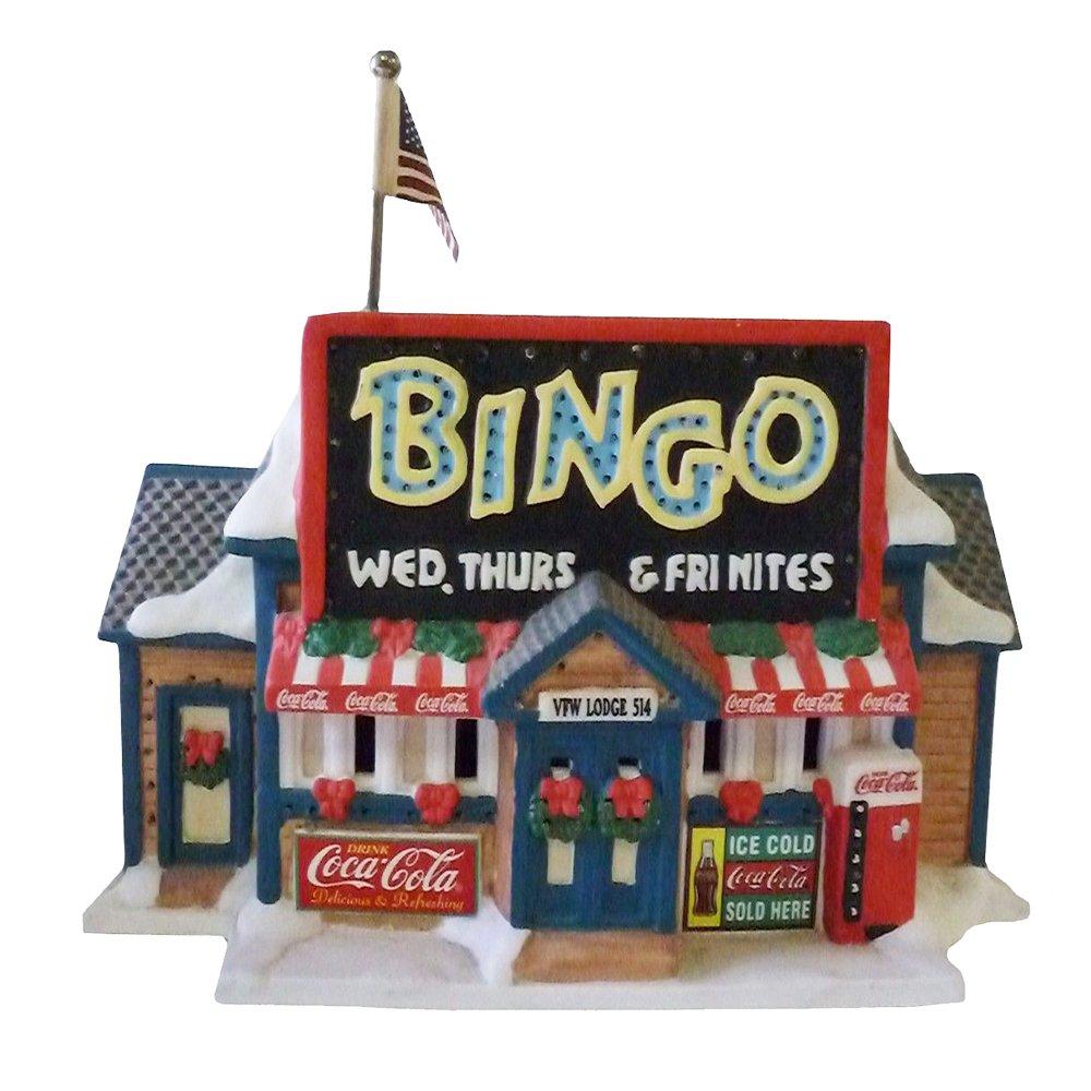 Coca-Cola Town Square Bingo Lodge (Fiber Optic) CF1158 2004 by Coca cola