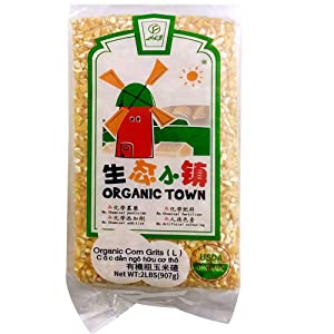 USDA Organic Grains (Corn Grits, 2 Pounds)