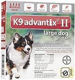 K9 Advantix II Flea and Tick Treatment - Large Dog - 4 ct