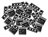 Clapboard & Filmstrip Print-Fetti Party Accessory (1 count)