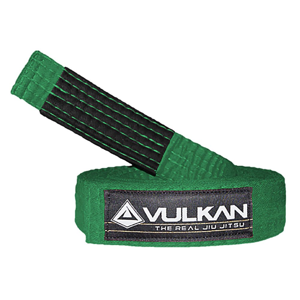 Vulkan Fight Company Brazilian Jiu Jitsu, BJJ Kids Belt for Martial Arts Sports, Green, M1 by Vulkan