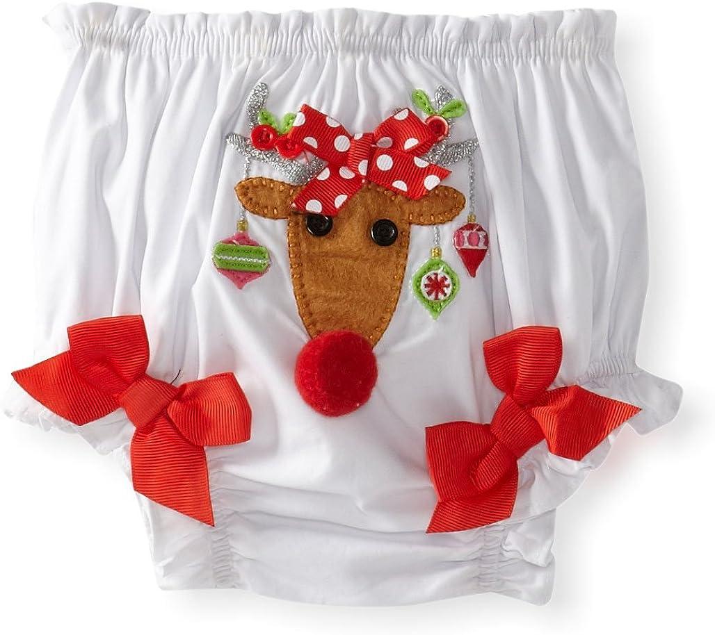 Mud Pie Baby Girls Reindeer Bloomer