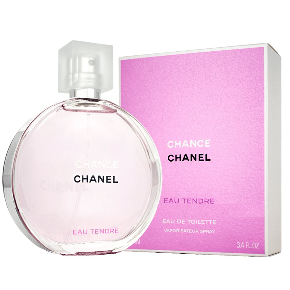 Chânel Tendre Eau De toilette Spray for Women, EDT 3.4 fl oz, 100 ml by Chanel