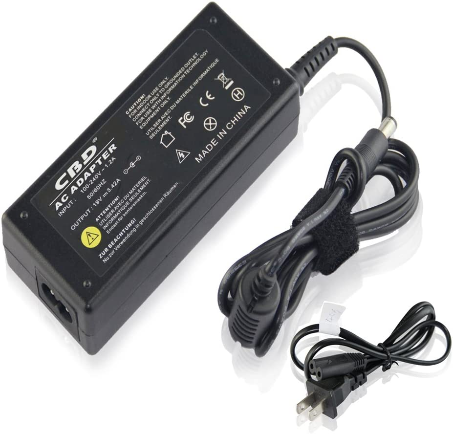AC Power Adapter/Battery Charger for Toshiba Satellite A135-S4427 A135-S4666 L25-S1193 L25-S1194 L25-S1216 L35-S1054 L35-S2151 M115-S1061 M35X-S111 M35X-S149 P205 a135-s2246