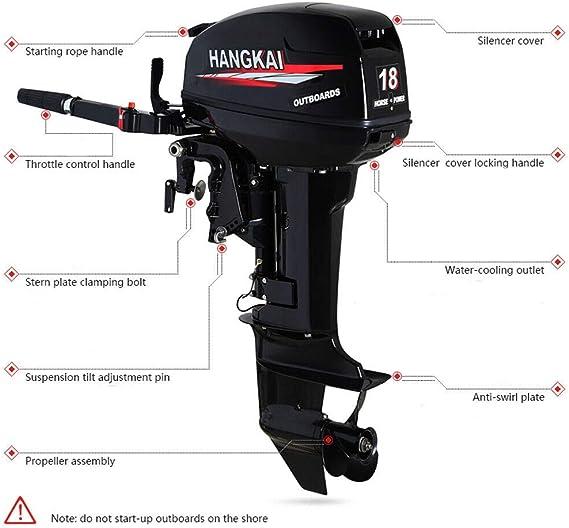 Lower case unit fit for Hangkai outboard motor 4 stroke 7HP