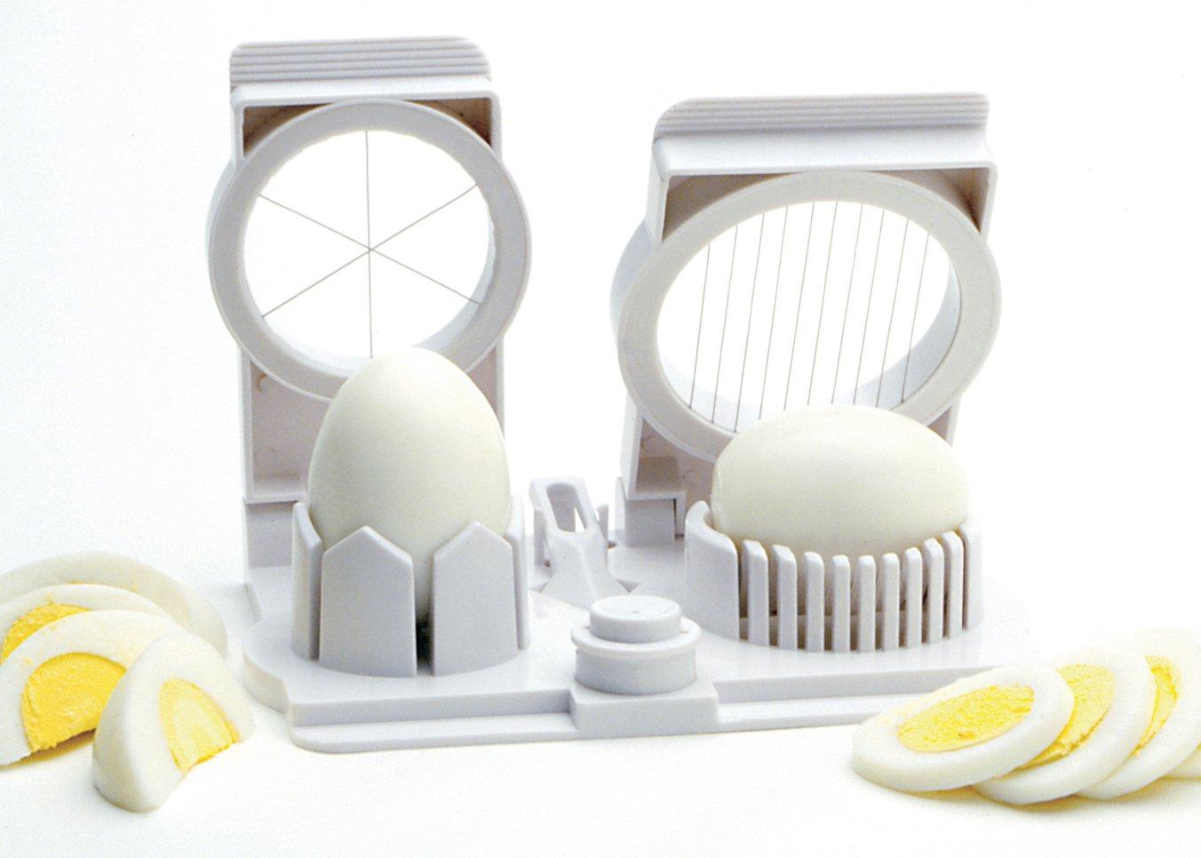 Norpro 989 - Herramienta para Cortar y perforar Huevos, 17.8 x 15.5 x 4.8 cm, Color Blanco NOR-989
