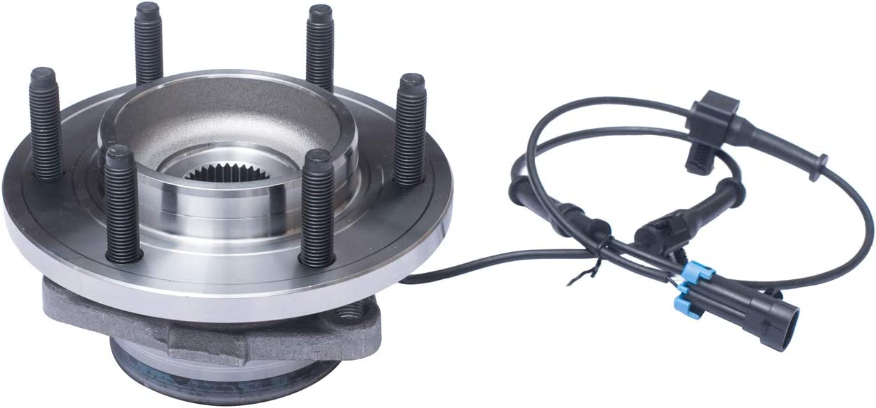TUCAREST 515093 Front Wheel Bearing and Hub Assembly Compatible 2006 2007 2008 Hummer H3 6 Lug W//ABS