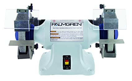 Surprising Palmgren 82061 1 3Hp 115 230V Powergrind Bench Grinder Without Dust Collection 6 Inch Machost Co Dining Chair Design Ideas Machostcouk