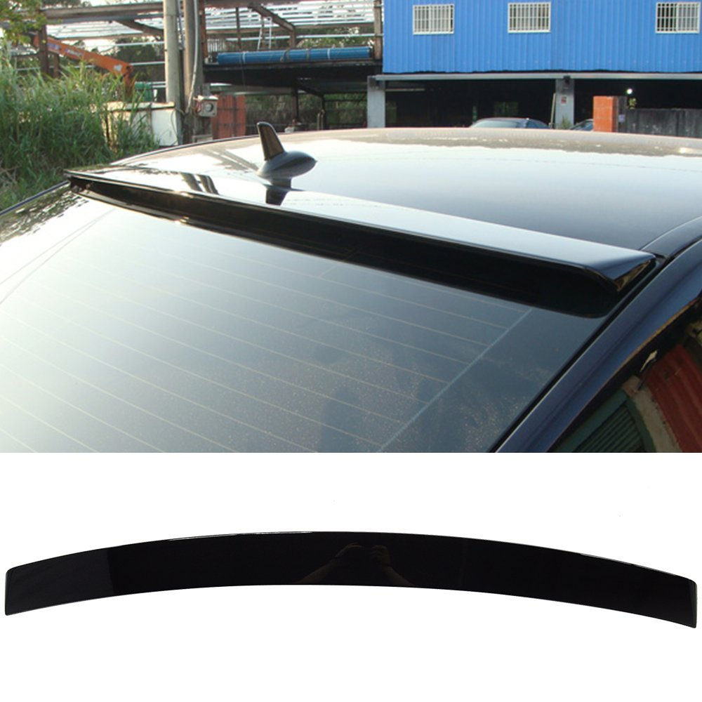 2011 2012 2013 2014 Factory Style Painted #197 Obsidian Black ABS Rear Wing Window Roof Top Spoiler other color available by IKON MOTORSPORTS Pre-painted Roof Spoiler Fits 2010-2016 Benz E-Class W212