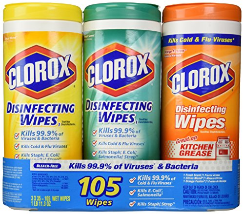 Clorox Disinfecting Wipes Variety Pack, 105 Count