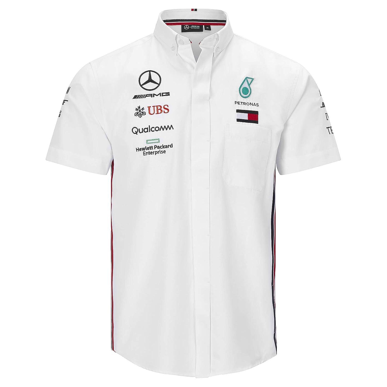 Mercedes AMG Petronas 2019 F1 Short Sleeve Driver T-shirt White