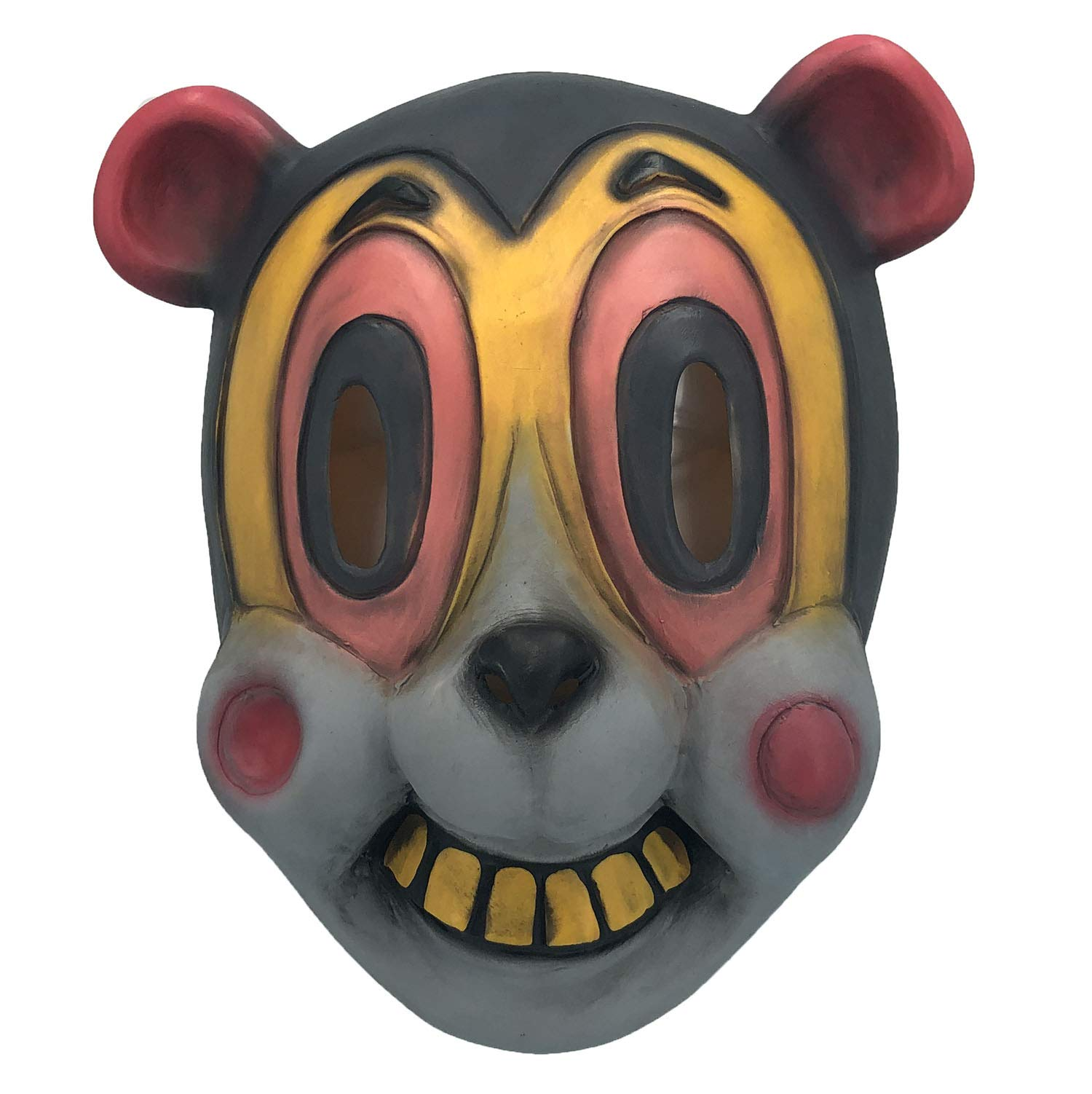 Hazel Latex Mask of The Umbrella Academy, Halloween Cartoonish Cat Masks Animal Helmet, Movies Costume Props