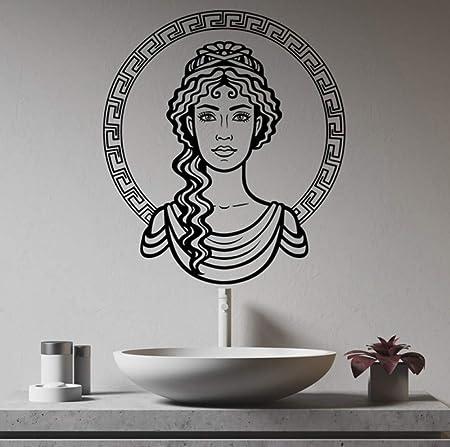 Mrlwy Cara De Niña Griega Grecia Ornamento Hermosa Mujer Diosa ...