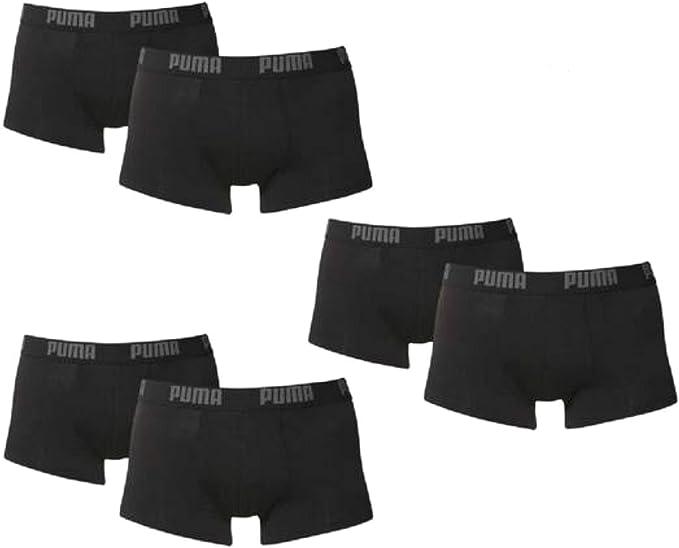 PUMA - Pack de 3 Calzoncillos bóxer para Hombre (con Logo y Nombre ...