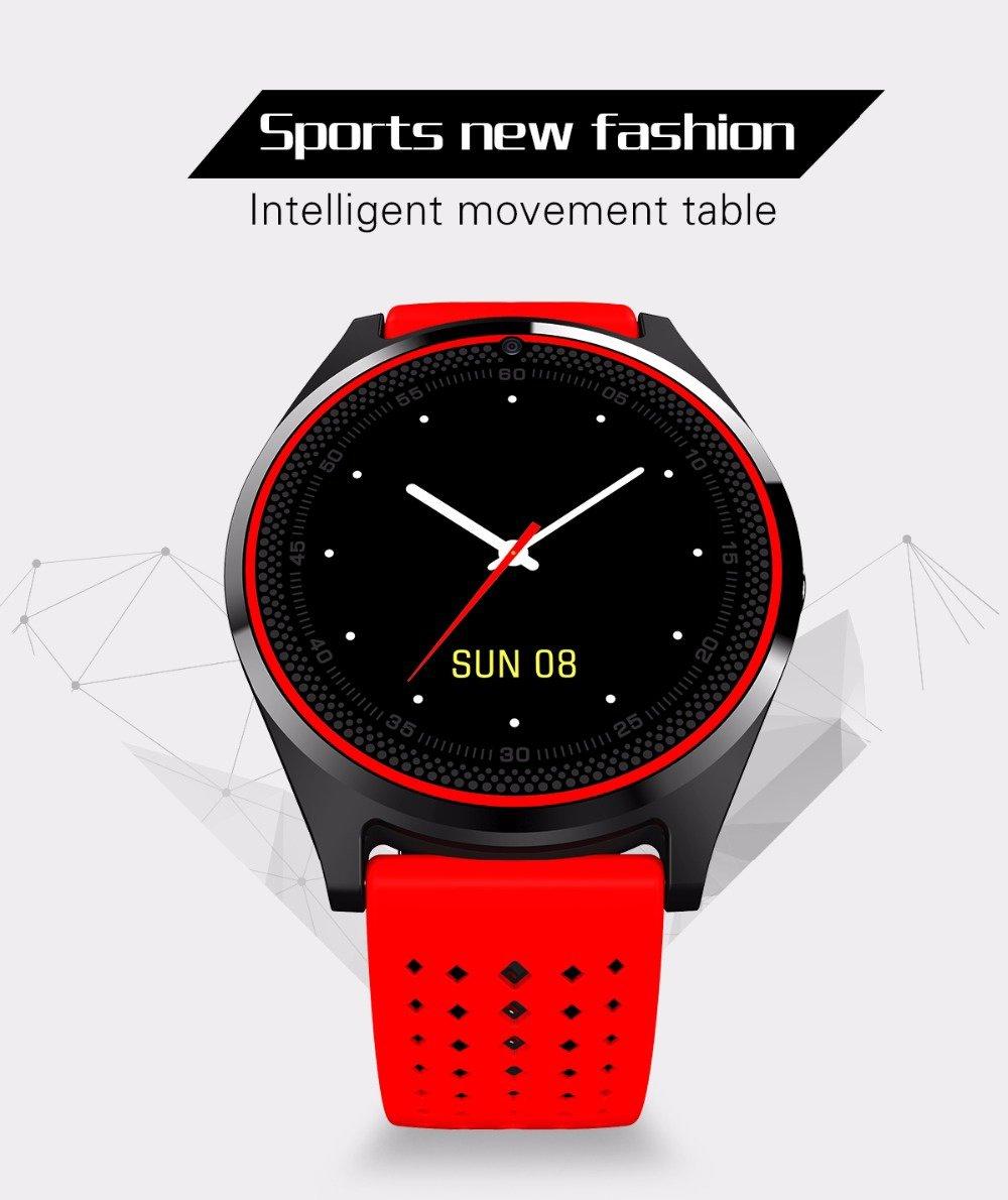 PINCHU Bluetooth Smart Watch V9 con cš¢mara Smartwatch Podš®metro Salud Deporte Reloj Horas Hombres Mujeres Smartwatch para Android IOS, C: Amazon.es: ...