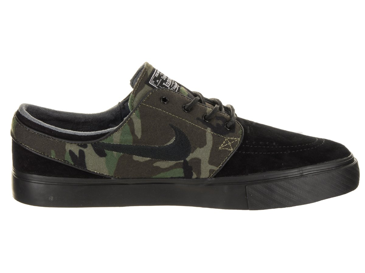 NIKE Men's Zoom Stefan 8.5 Janoski Skate Shoe B078KF5C9P 8.5 Stefan D(M) US|Black / Medium Olive-white 1a3d39